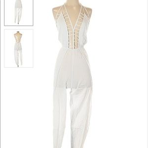 Indah White jumpsuit